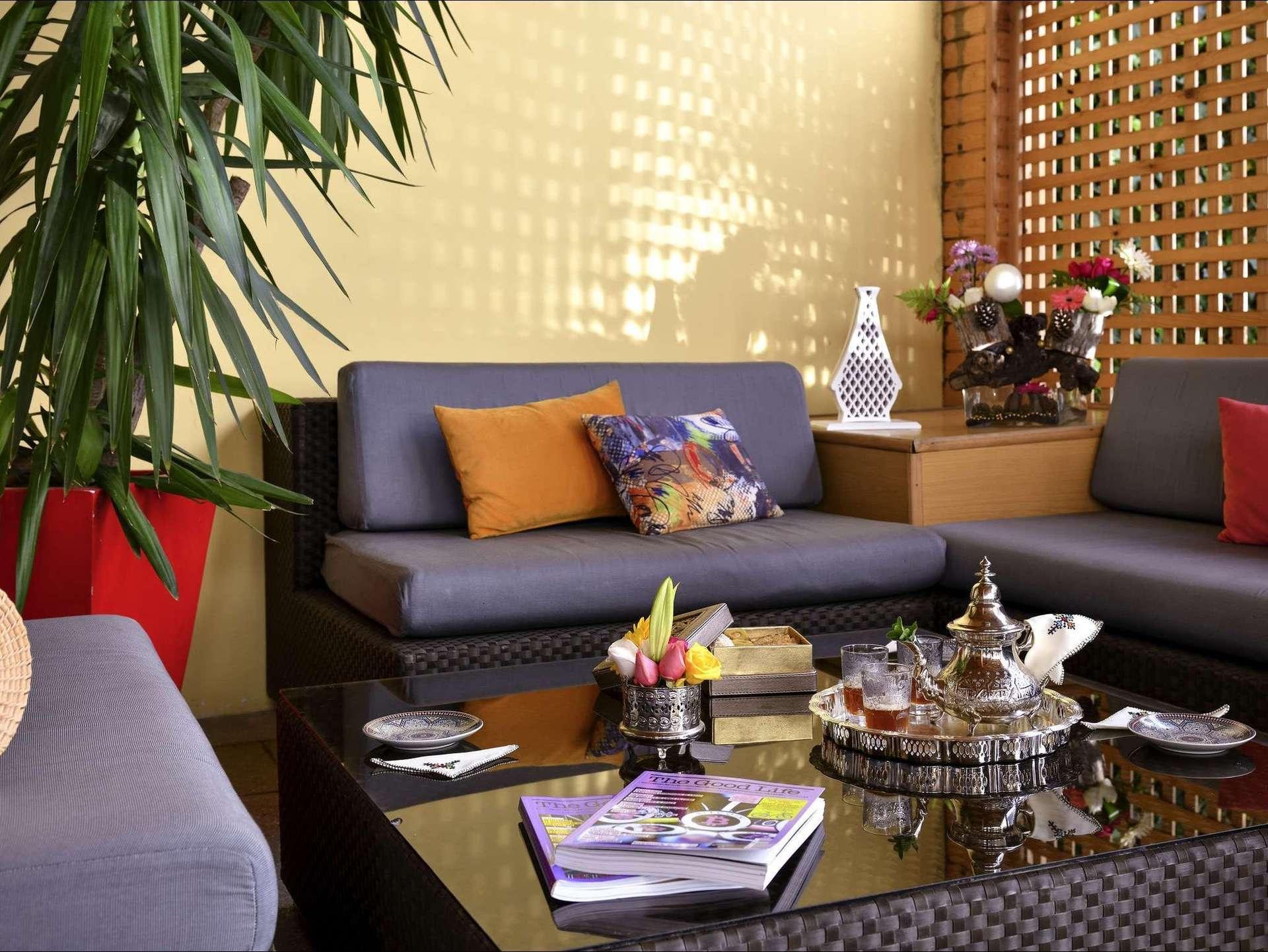 Hotel Mercure Sheherazade lobby - Rabat