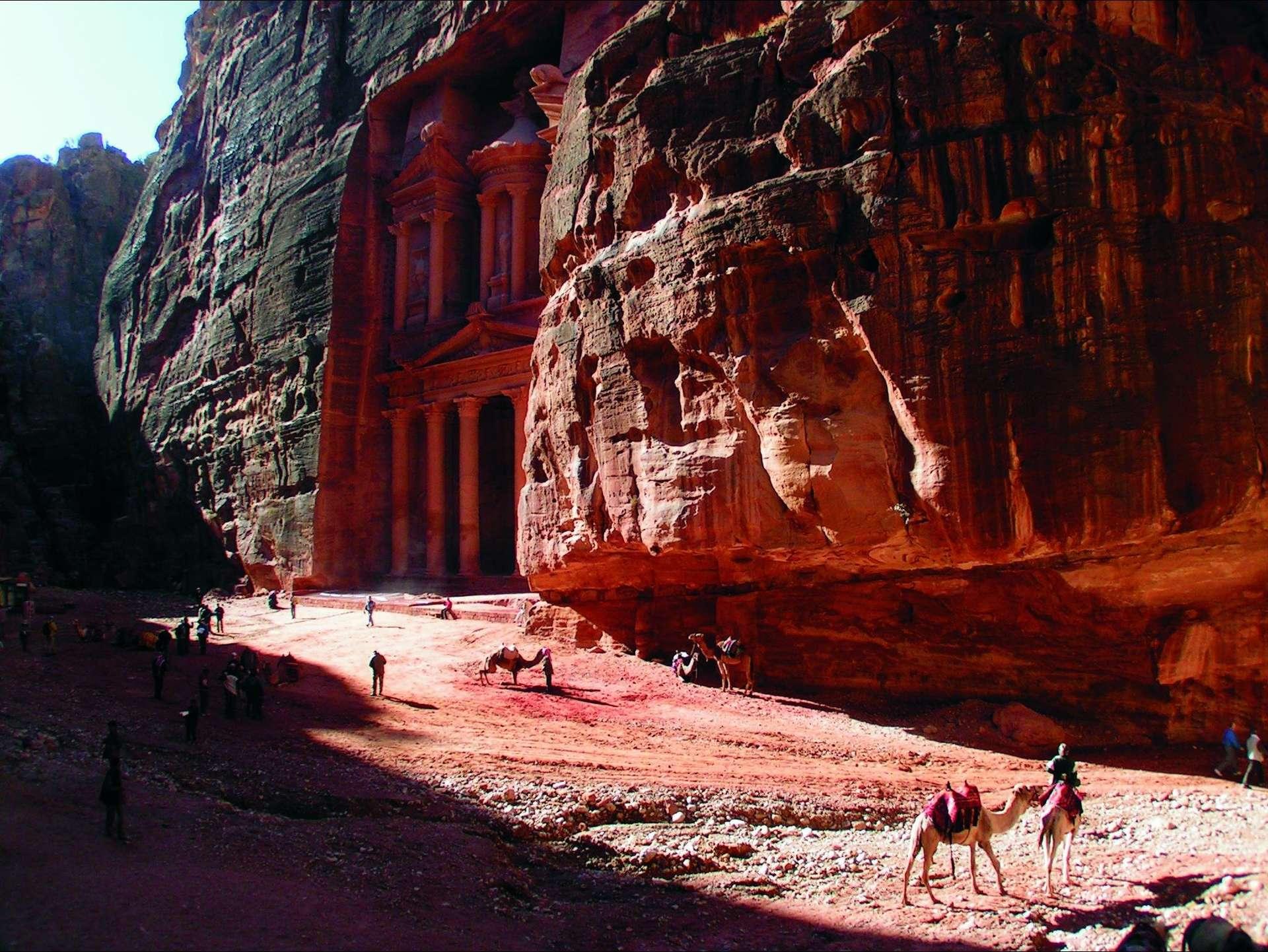 Schatkamer Petra - Jordanië
