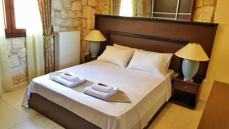 Bungalow White Apartments - Suite - slaapkamer