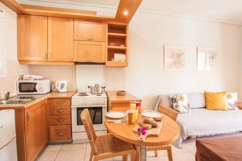 Appartementen Barbati Bay in Rivièra Barbati - Barbati - 2-kamer appartement
