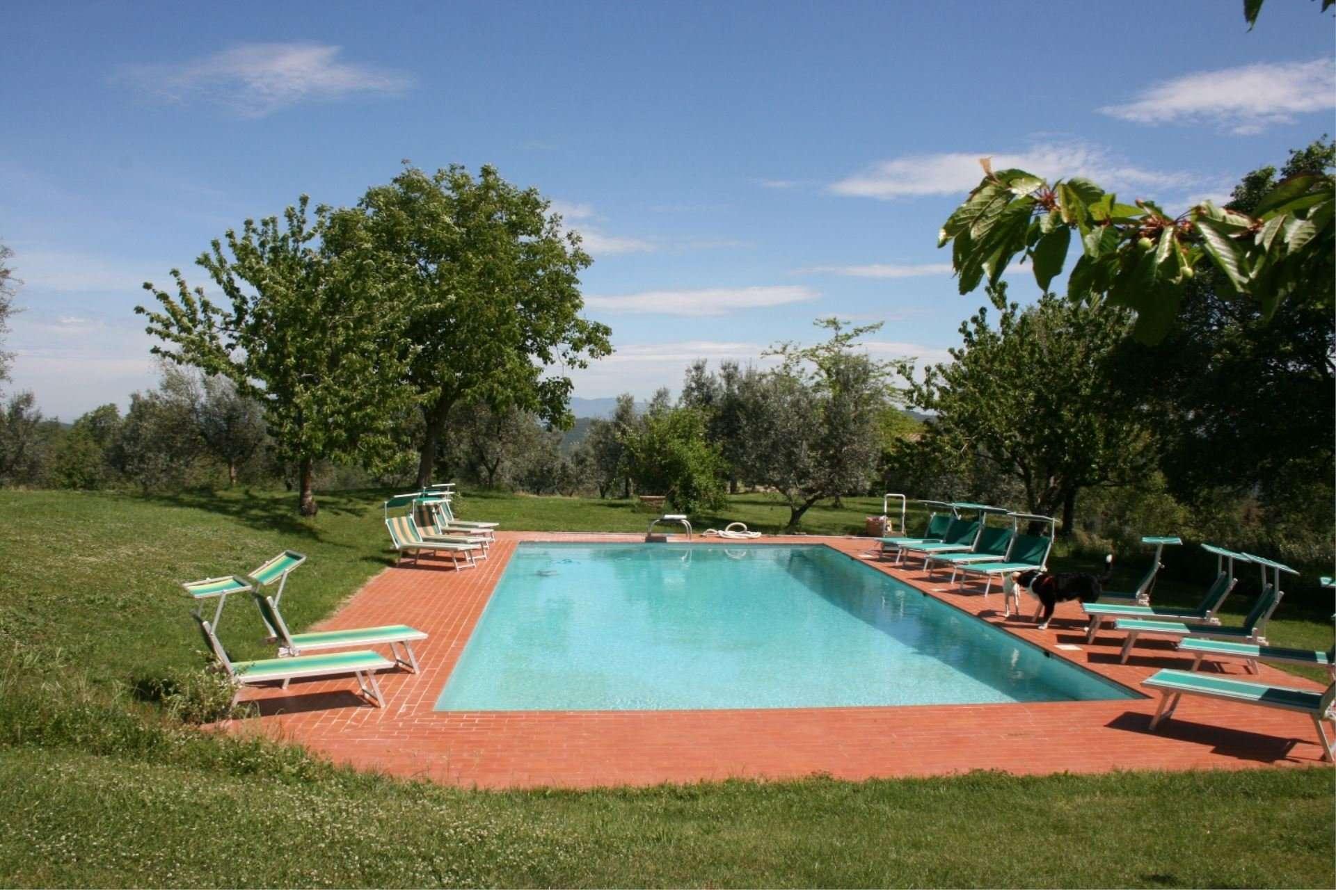 agriturismo bevignano- zwembad