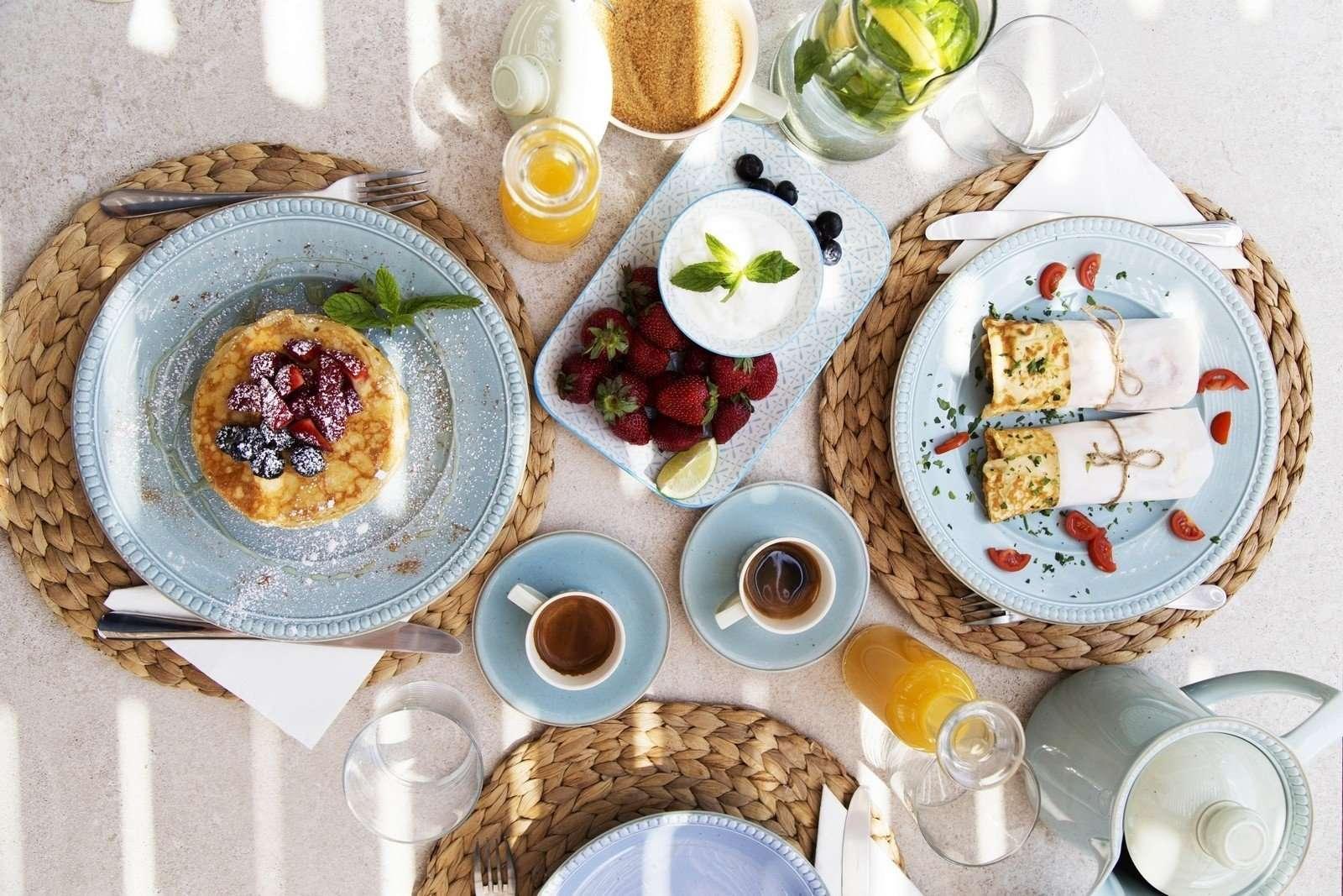Hideout Suites - ontbijtservice
