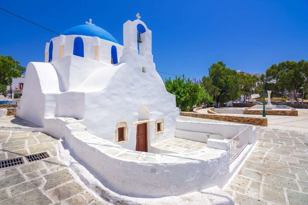 Kerkje op Ios