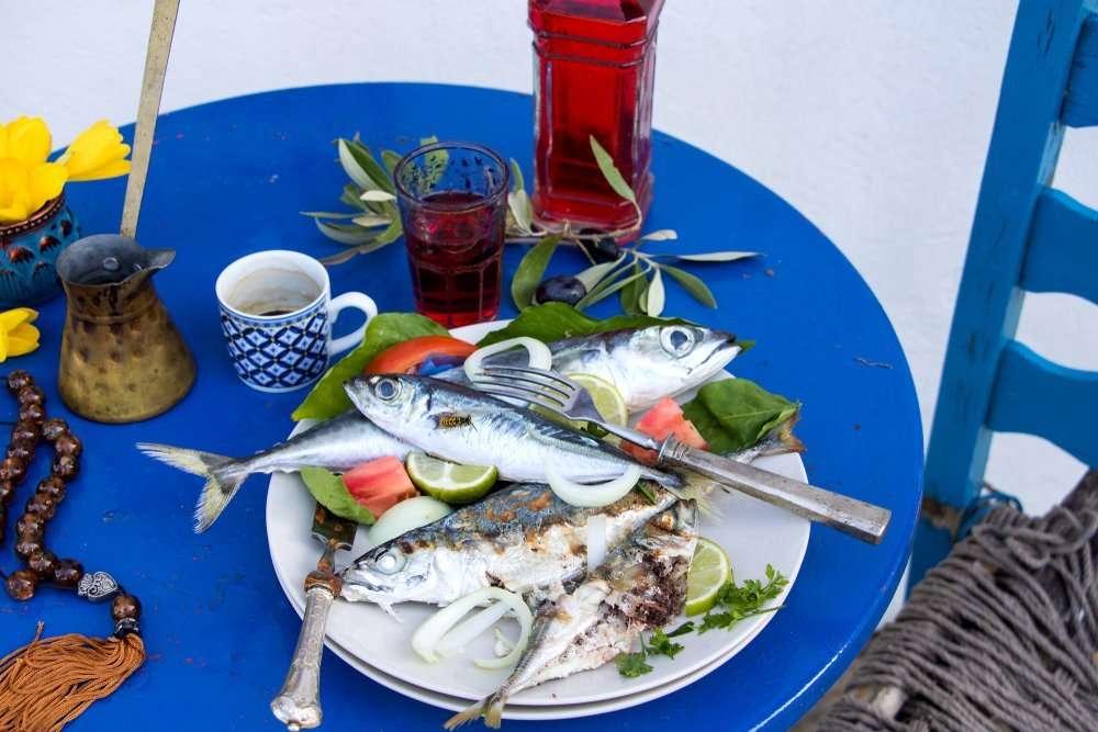 Griekse lunch