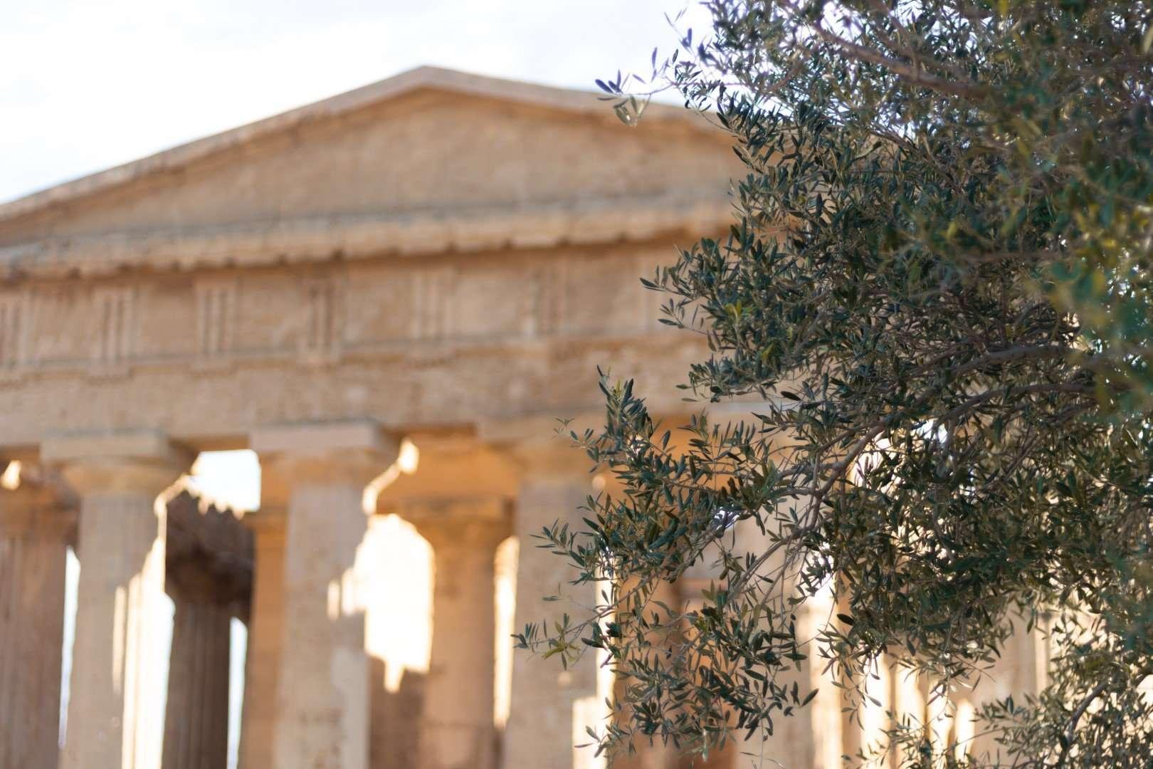 agrigento sicilie tempel