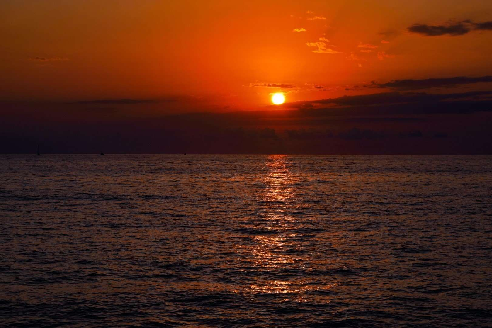 zonsondergang lipari