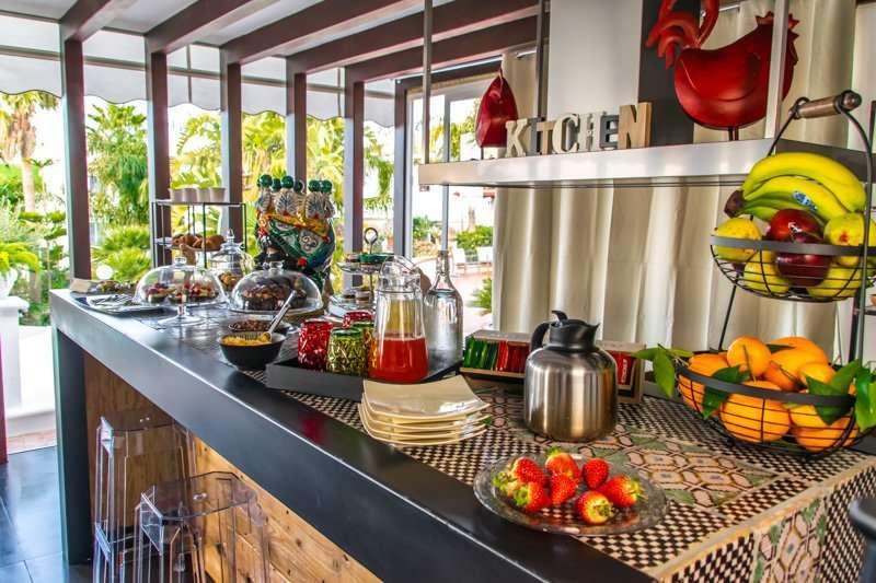 diodorus luxury experience - keuken-bar