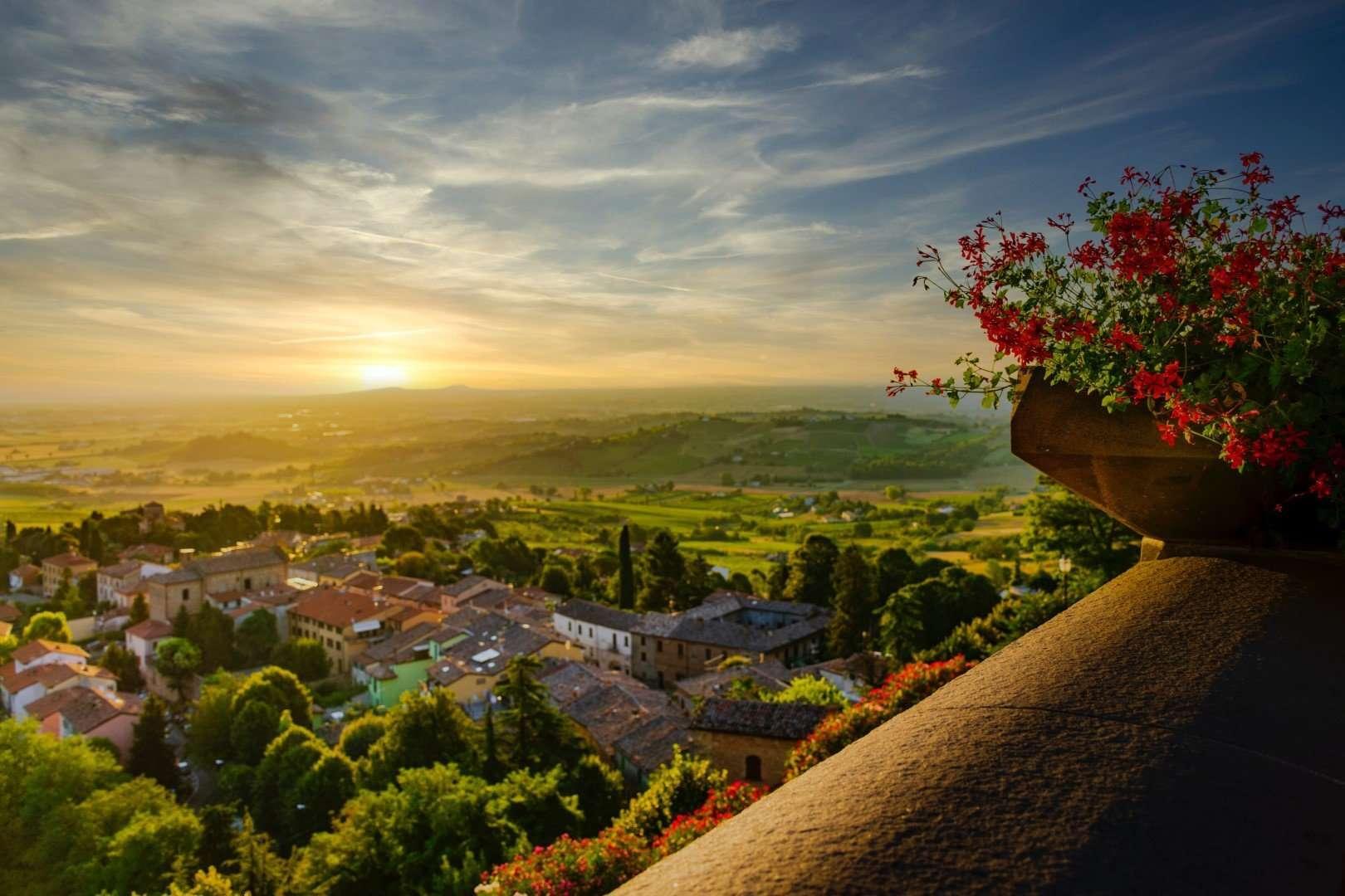 uitzicht provincie forlì