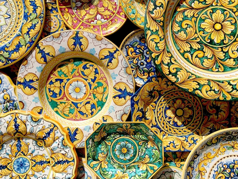 typische keramiek van sicilie