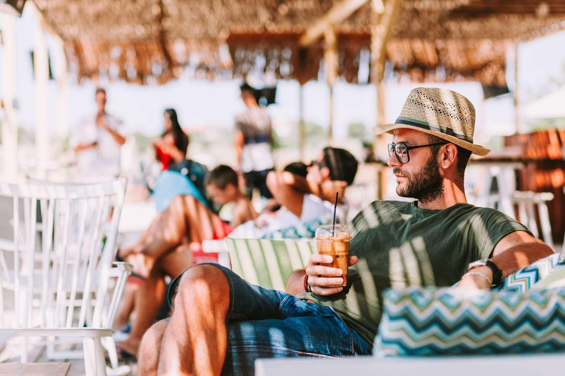 Atma Beach - genieten op het terras