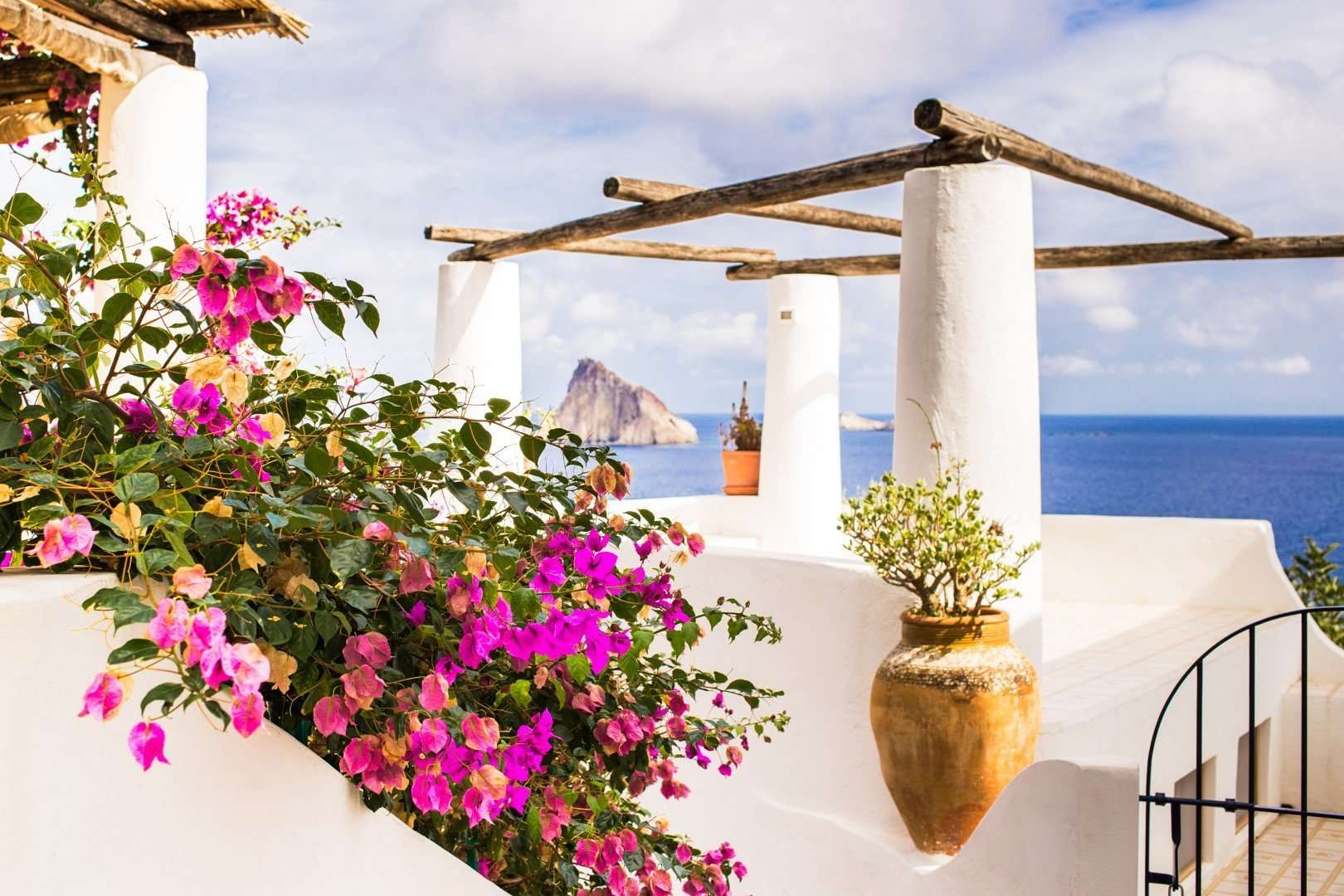 eiland panarea - sicilie