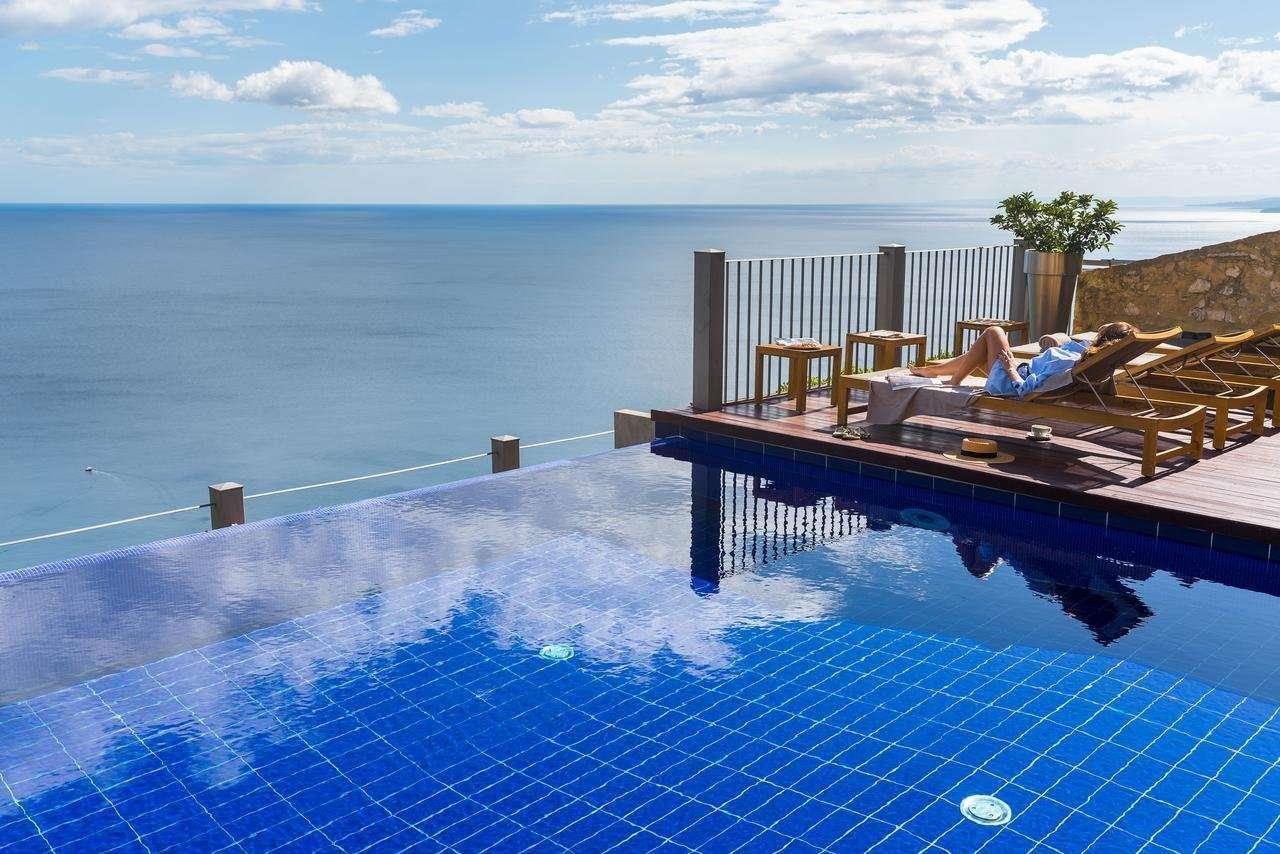 Metropole Taormina- zwembad