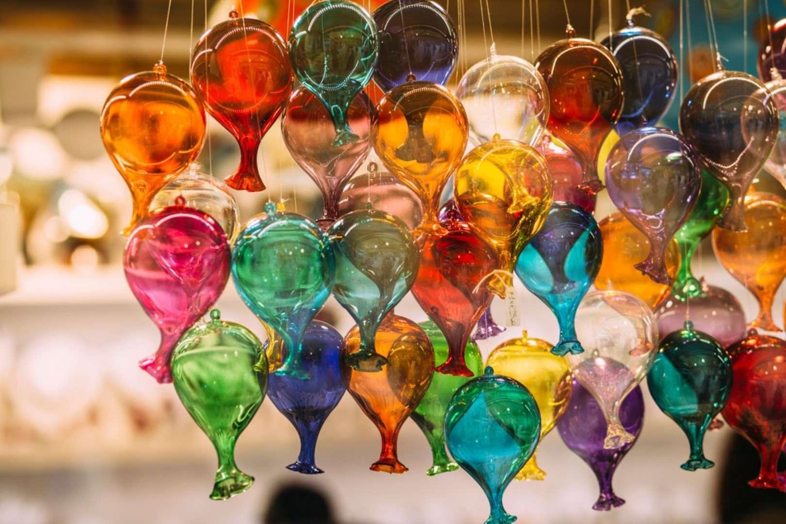 glas uit murano - venetie - italie
