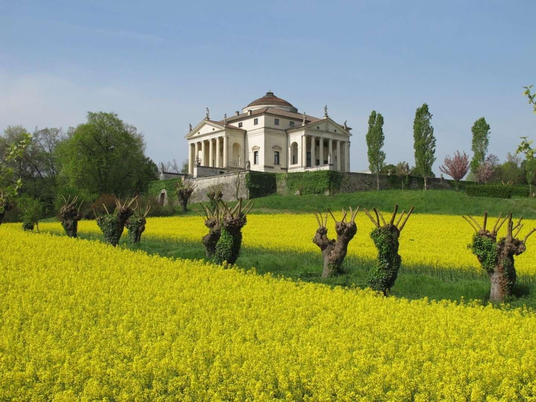 palladio's villa la rotonda in vicenza - italie