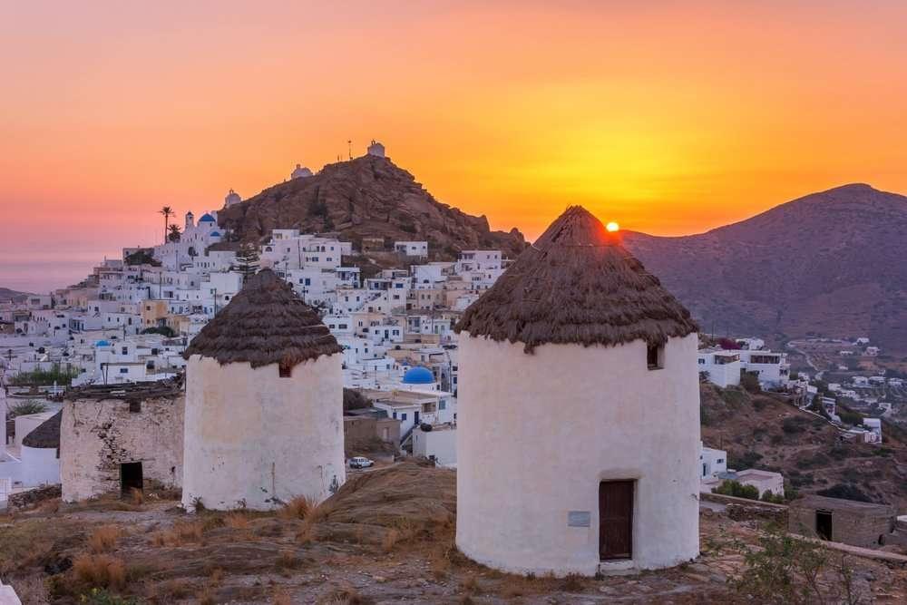 Zeilen langs de kleine Cycladen - Chora Ios