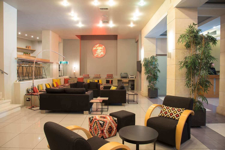 Hotel Olympic - lobby