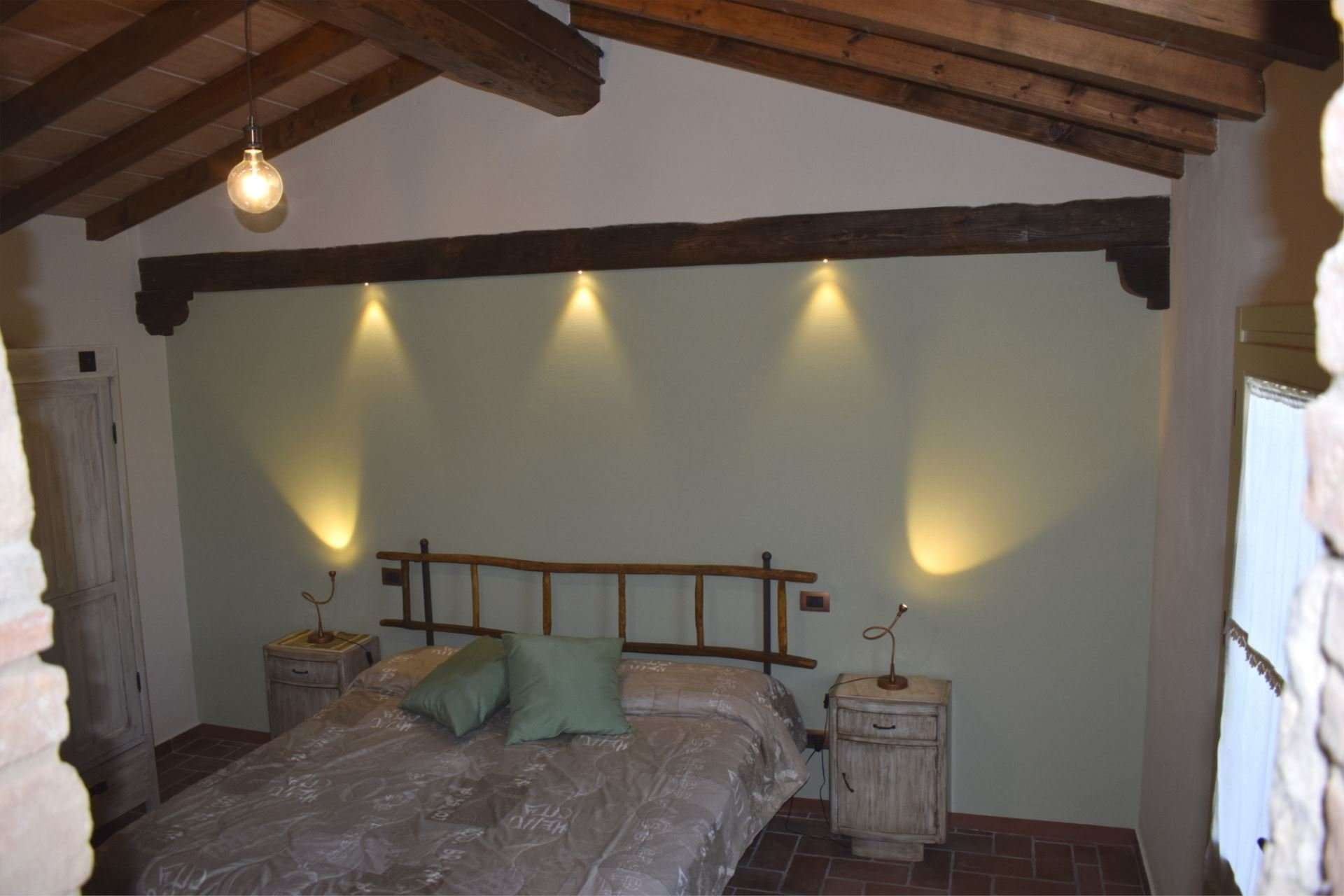 selva degli ulivi - slaapkamer 2 persoonsbed
