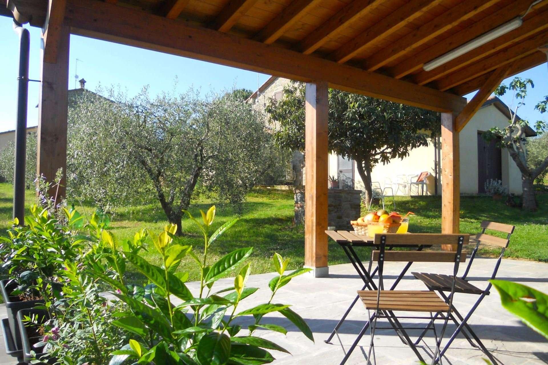 selva degli ulivi - overdekt terras voor onbijt