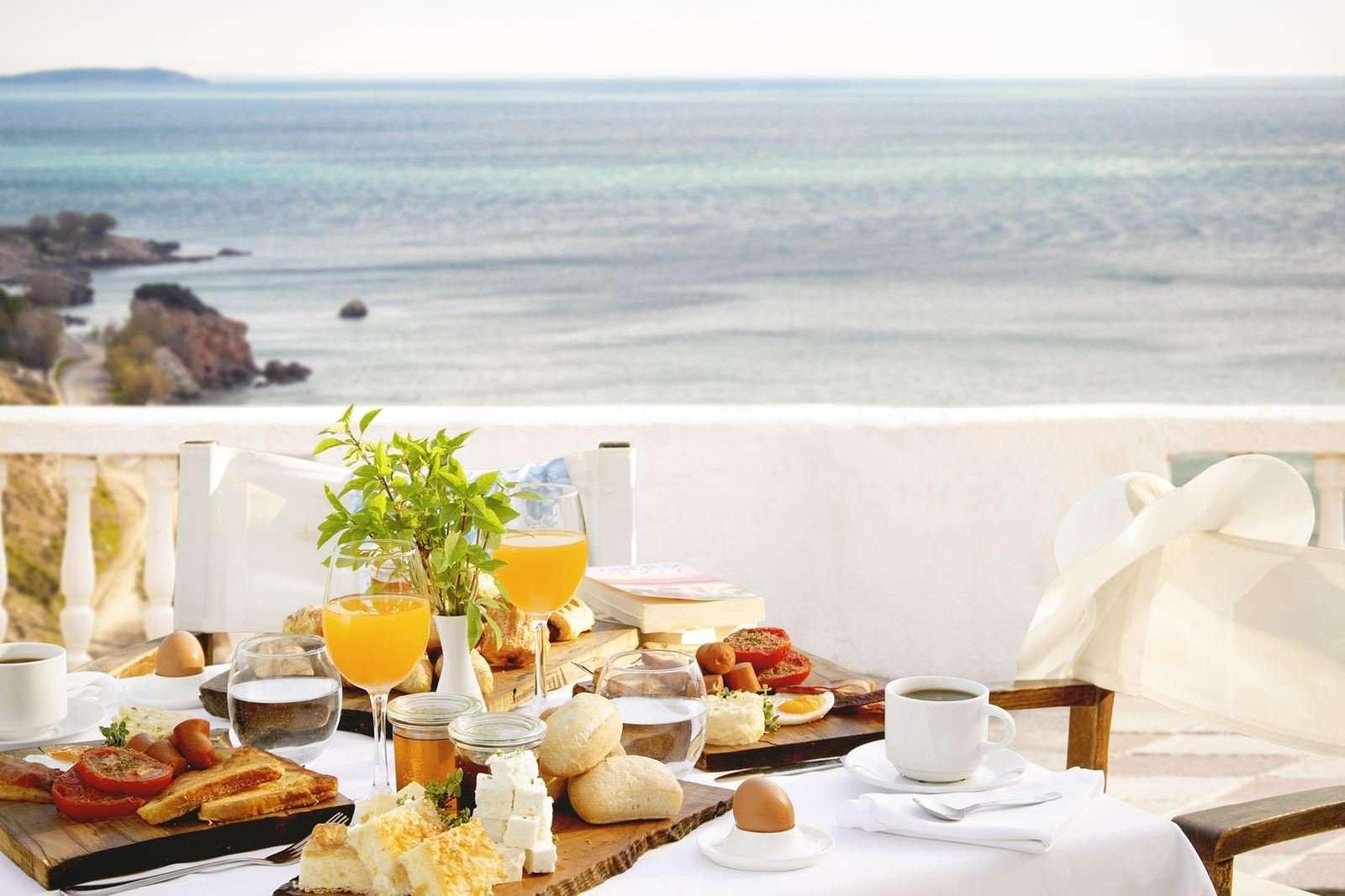 Lithos hotel - ontbijt