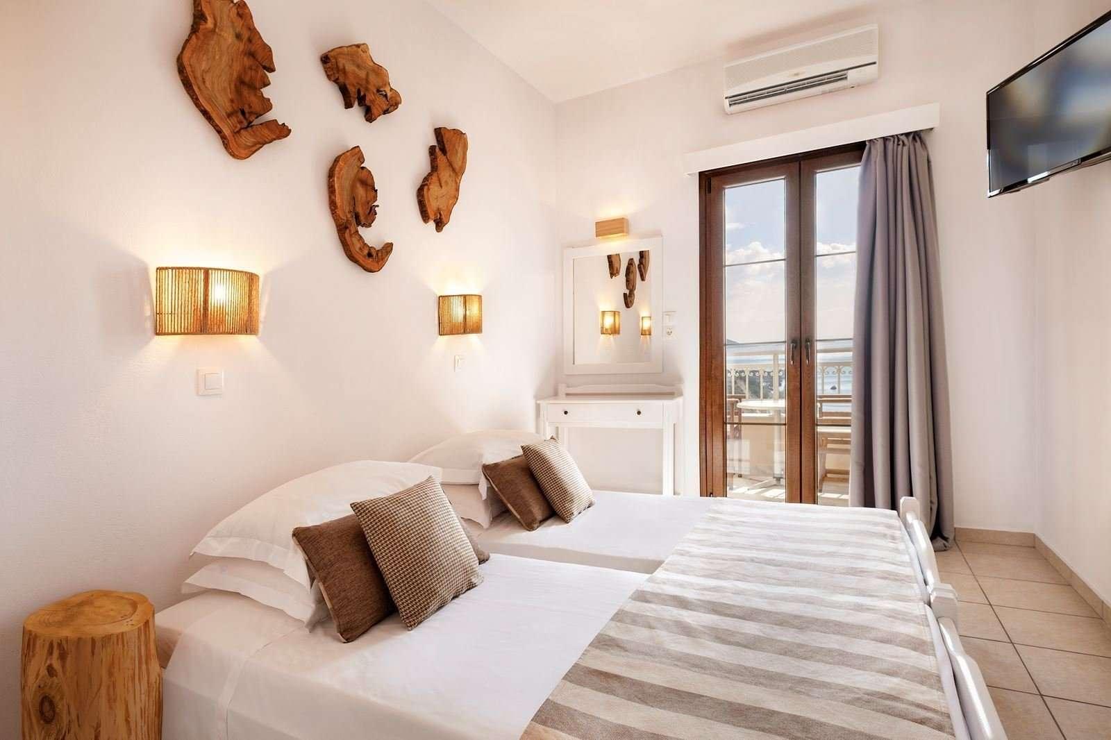 Lithos hotel - kamer zeezicht