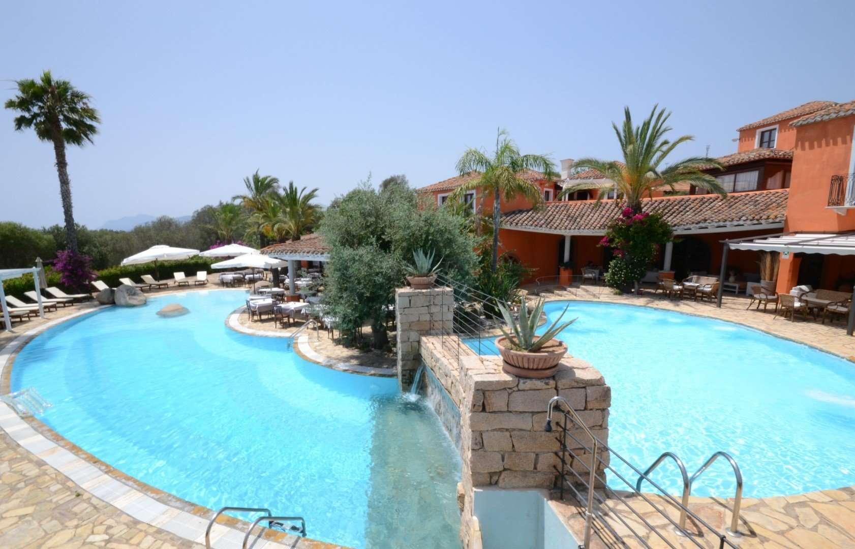 galanias hotel - sardinie - zwembad