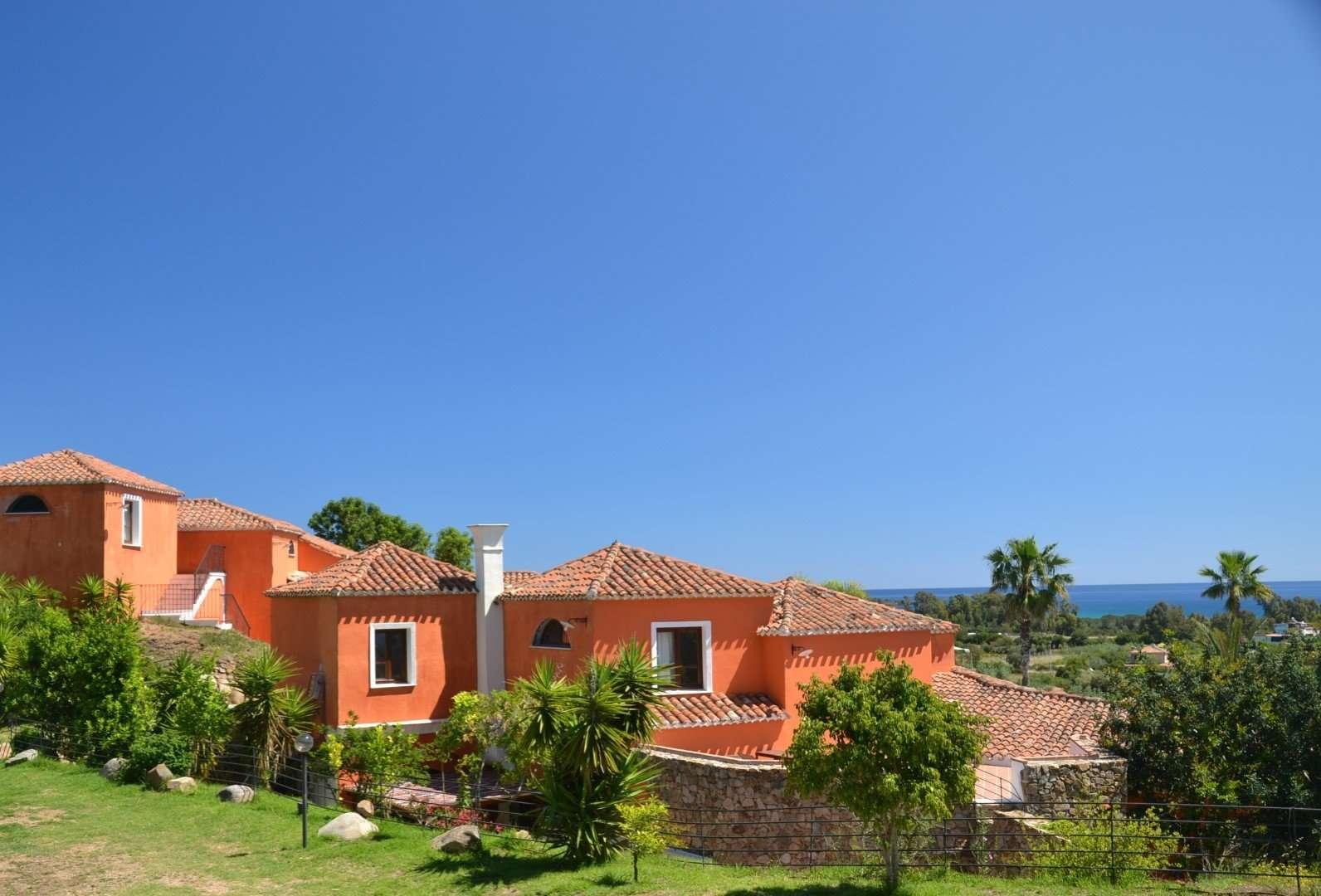 galanias hotel - sardinie - uitzicht op zee