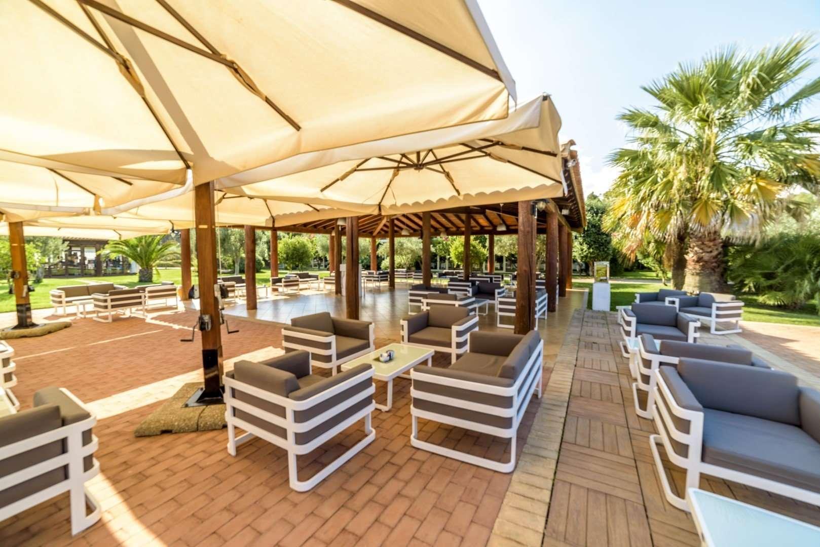 hotel garden beach - sardinie - bar