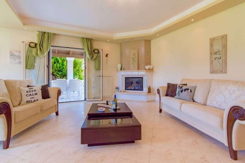Villa Perseida - woonkamer