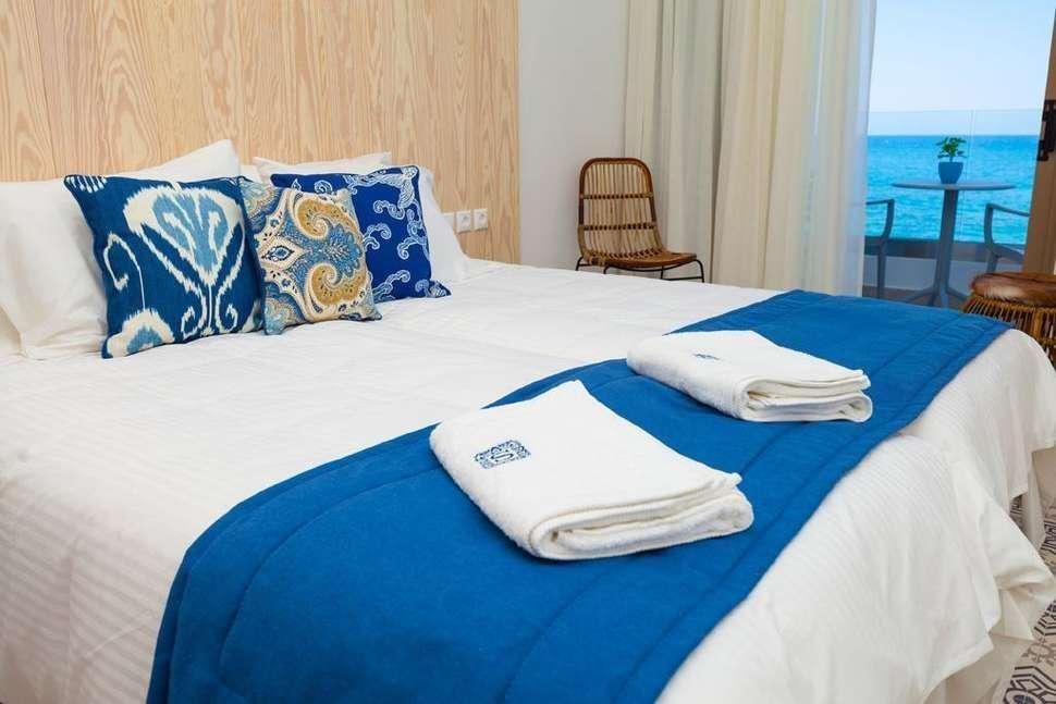 Serenity Blue - kamer zeezicht