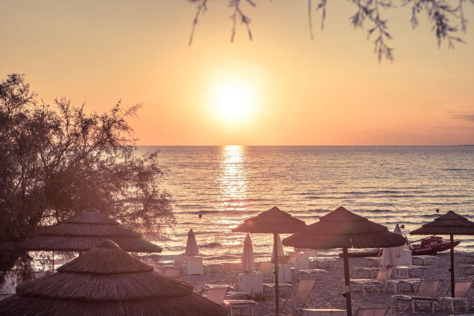 hotel costa brada - gallipoli - puglia - italie - strand