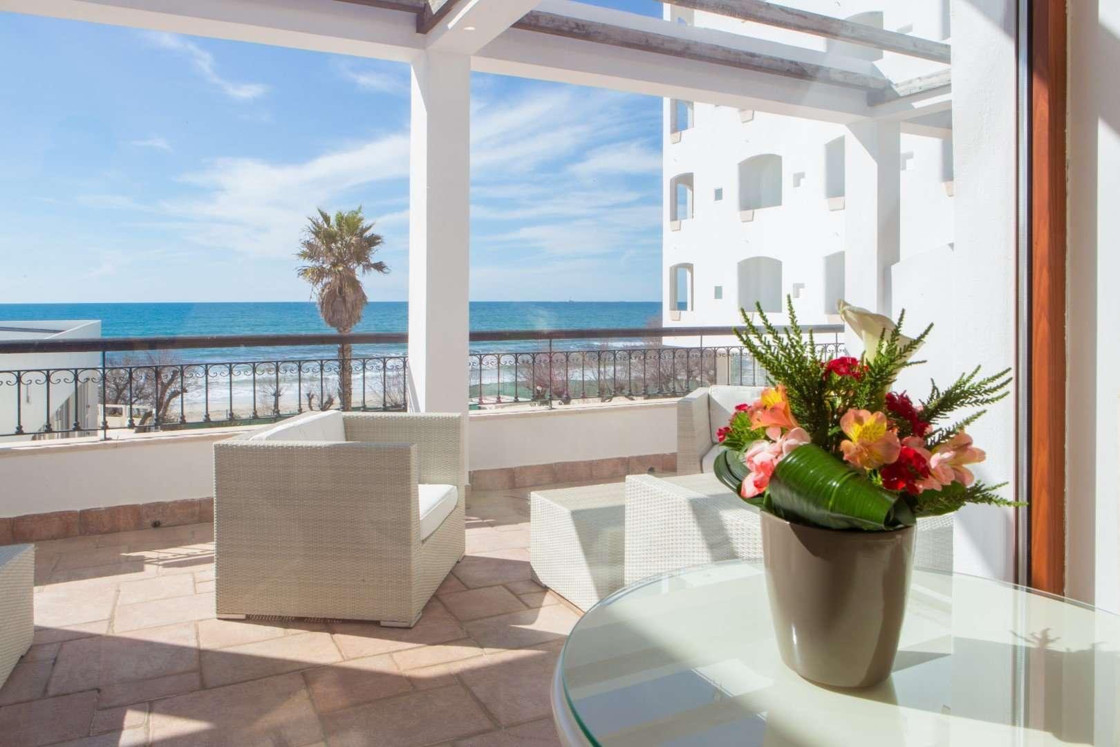 hotel costa brada - gallipoli - puglia - italie -zeezicht suite