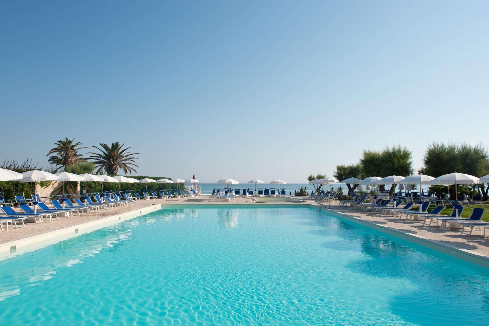 hotel del levante - puglia - italie - zwembad