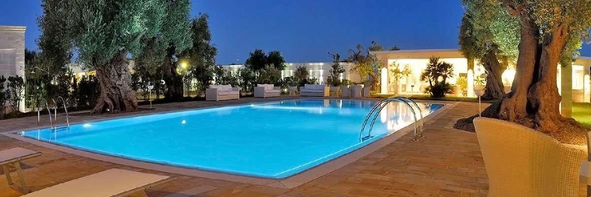 masseria torre del diamante - puglia - italia -avondfoto zwembad
