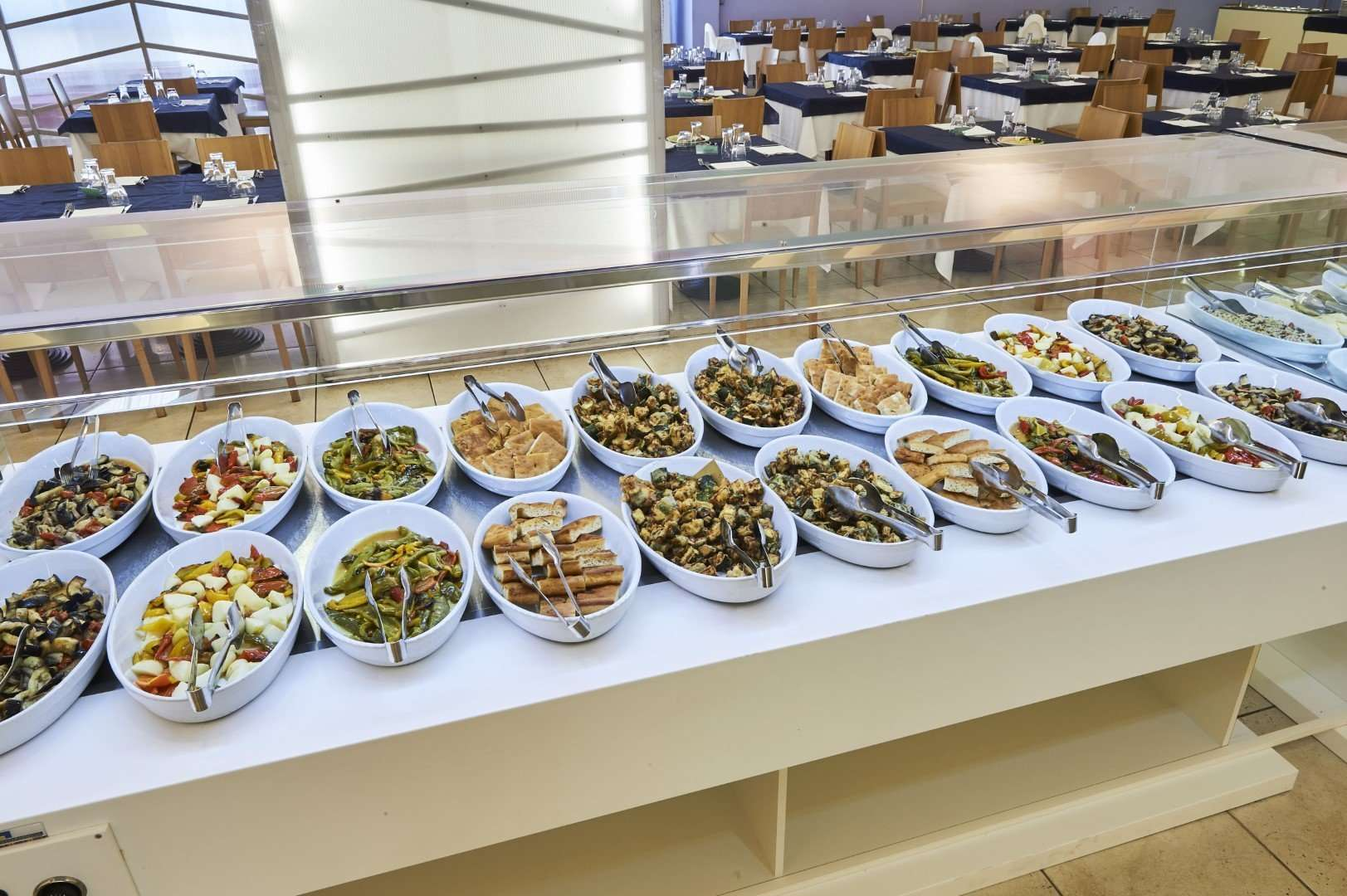 riva marina resort - puglia - italie - buffet