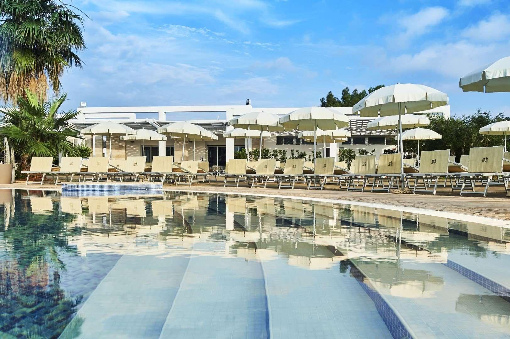 riva marina resort - puglia - italie -zwembad
