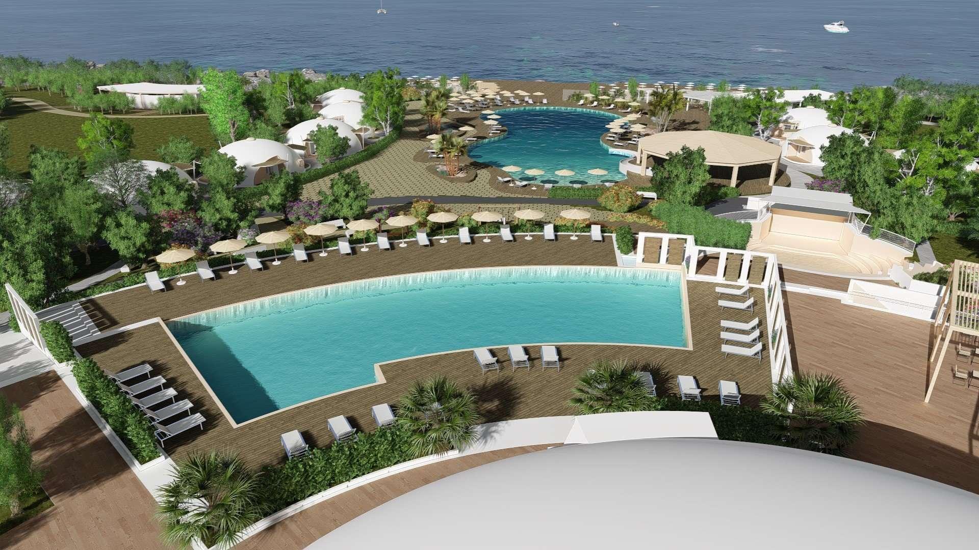 torre cintola natural sea resort - puglia - italie -zwembaden