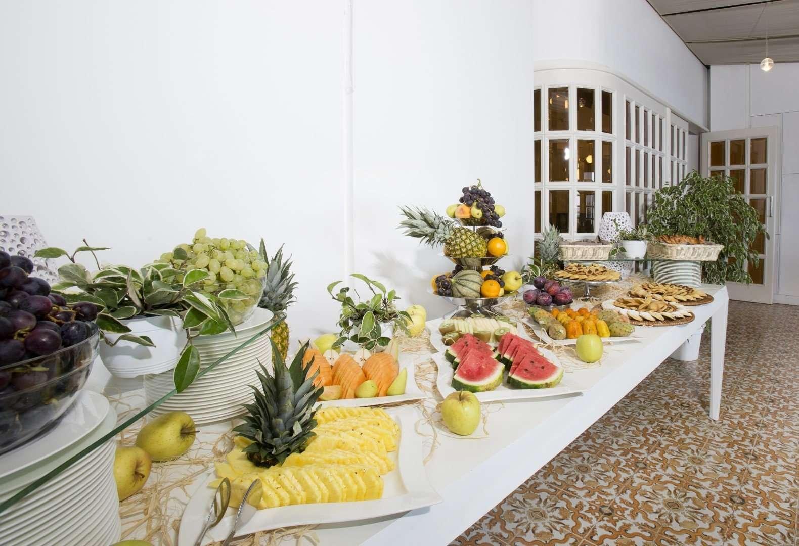grand hotel riviera - puglia - italie - fruitbuffet
