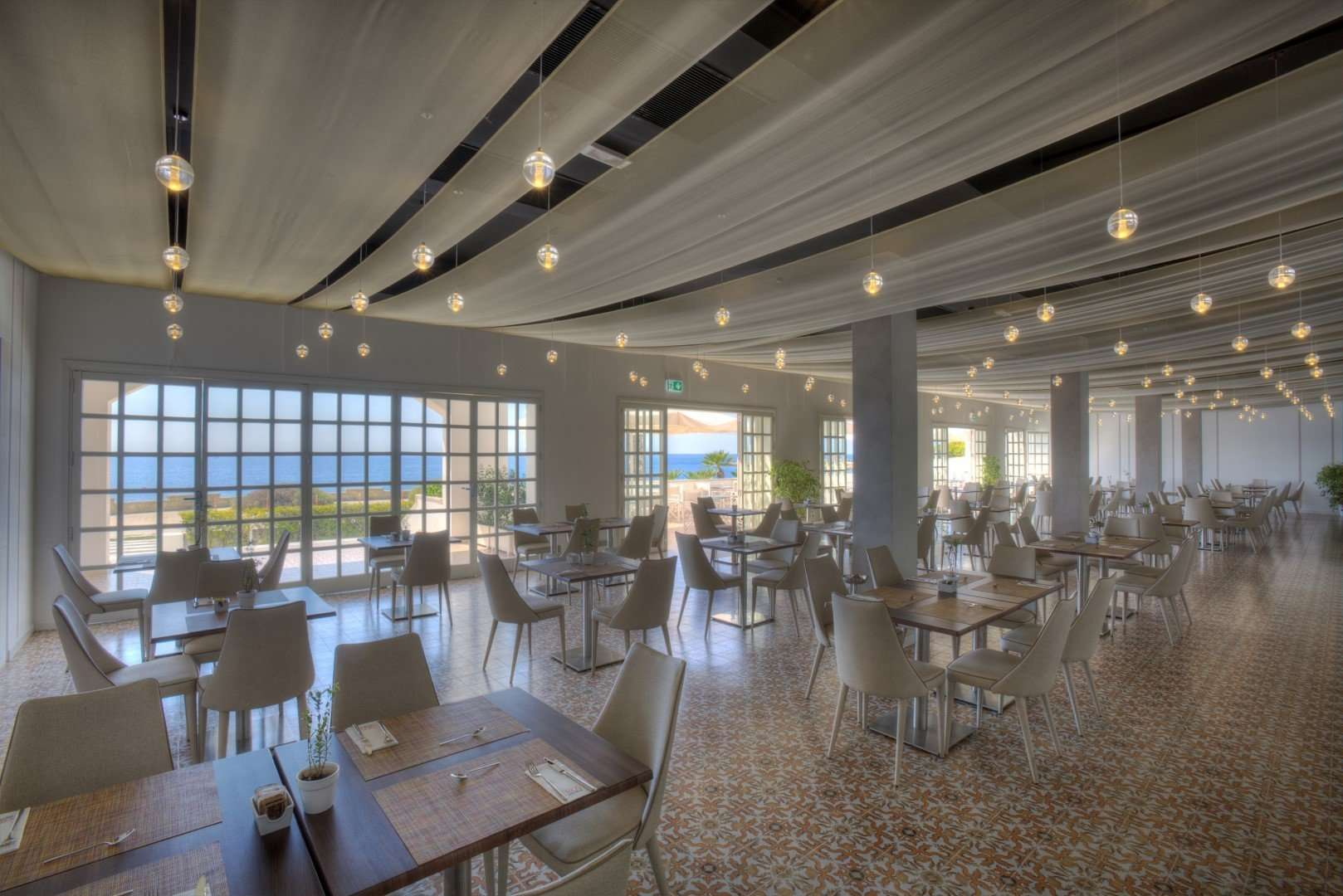 grand hotel riviera - puglia - italie - restaurant