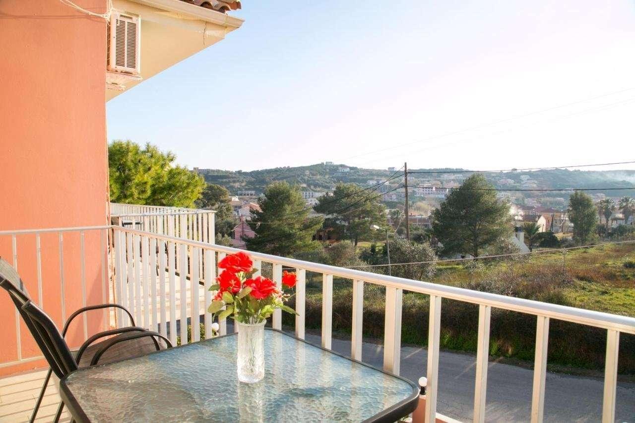Appartementen Kouros - balkon