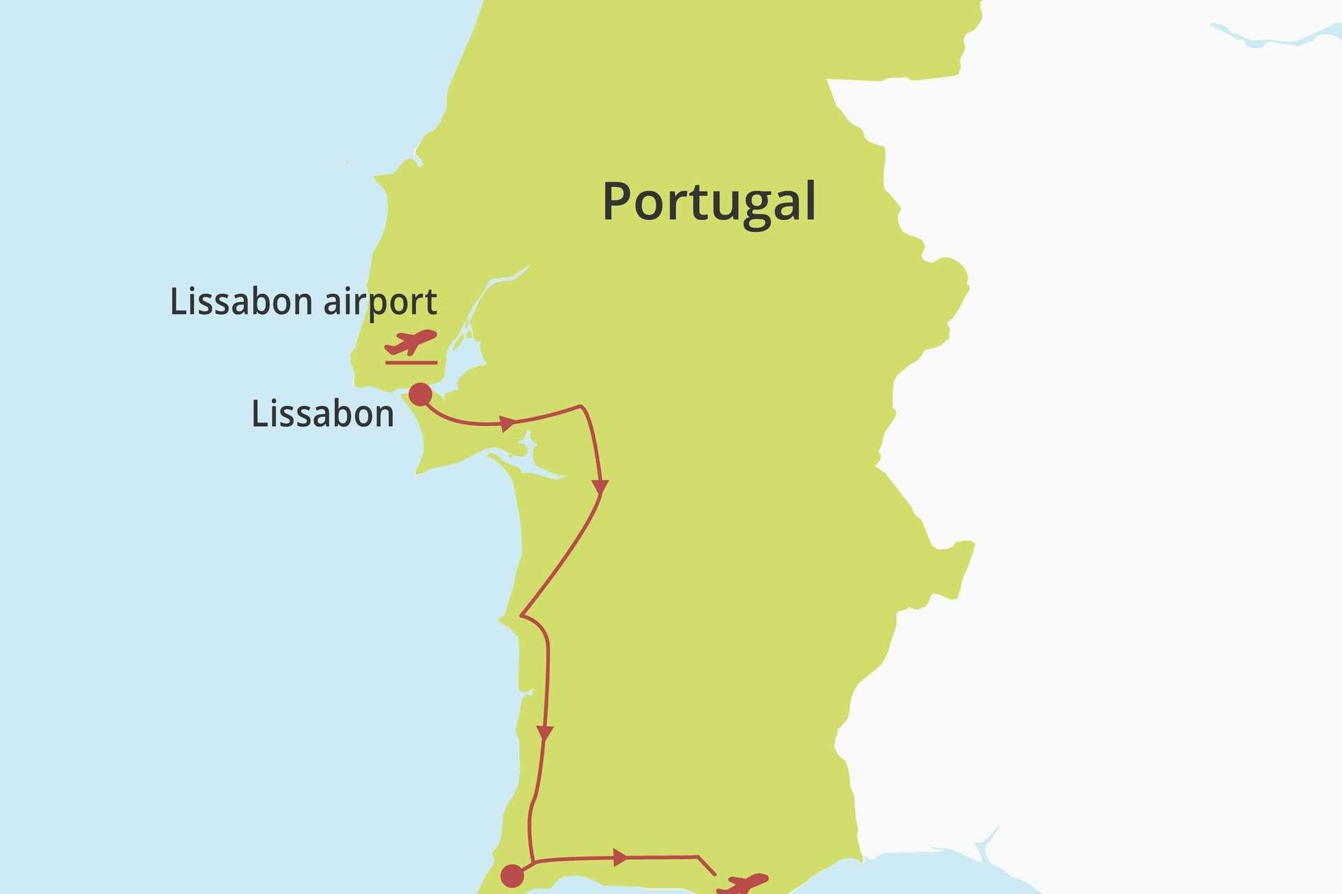 Lissabon & Algarve