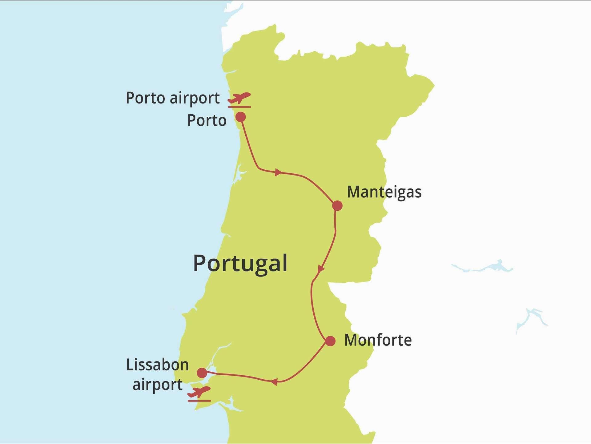 Fly-drive 5* Boutique Experience Porto, Centro & Alentejo