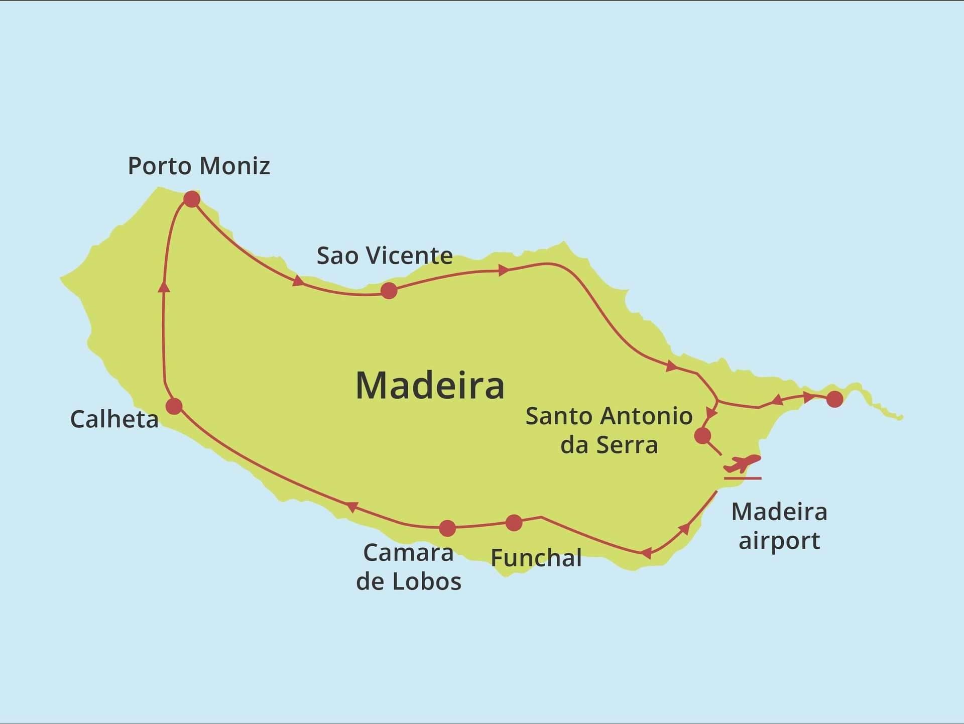 Fly-drive Madeira