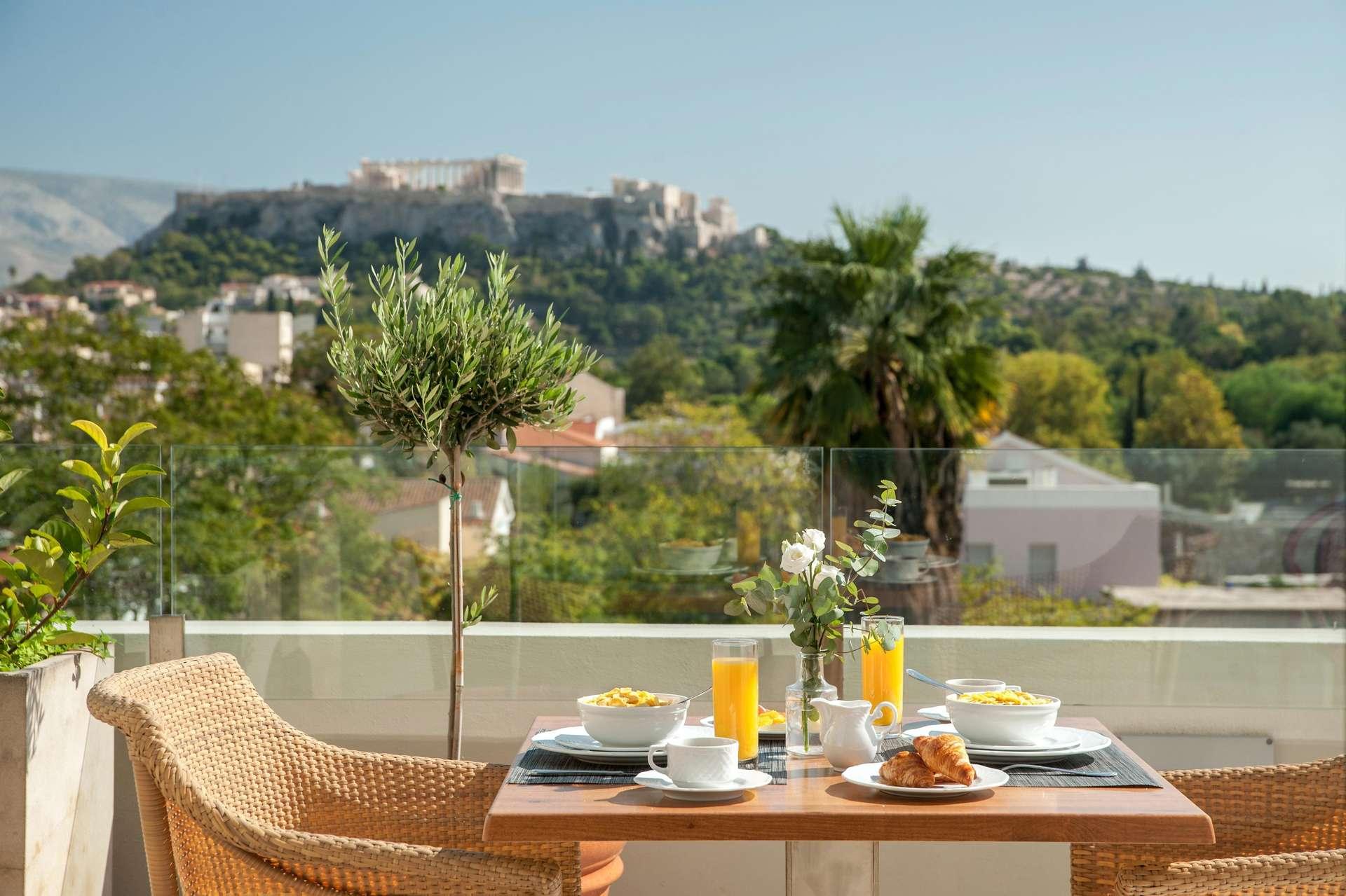 Athenaeum Eridanus Luxury Hotel - ontbijt