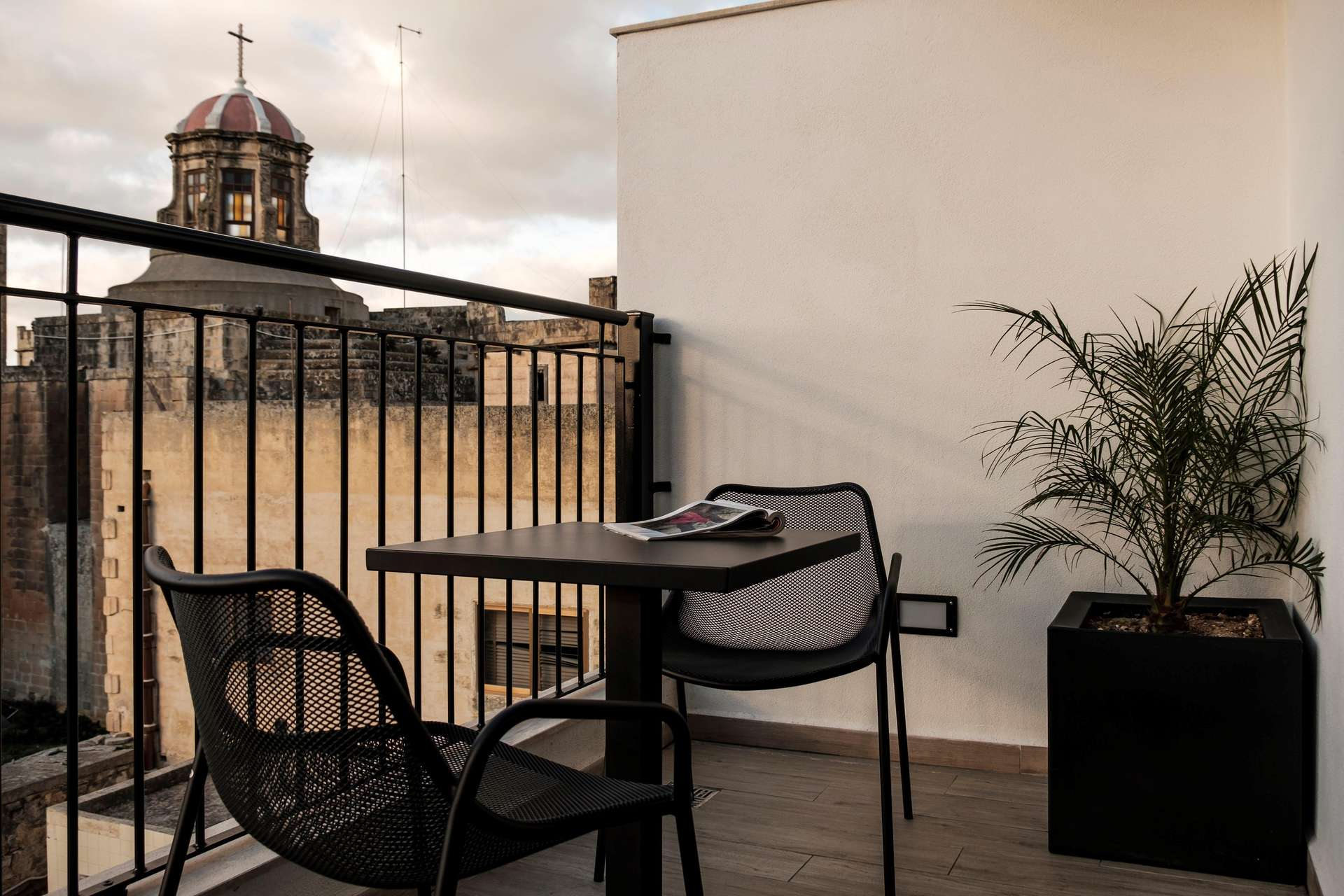 Quaint Boutique Hotel Rabat deluxe suite balkon - Malta