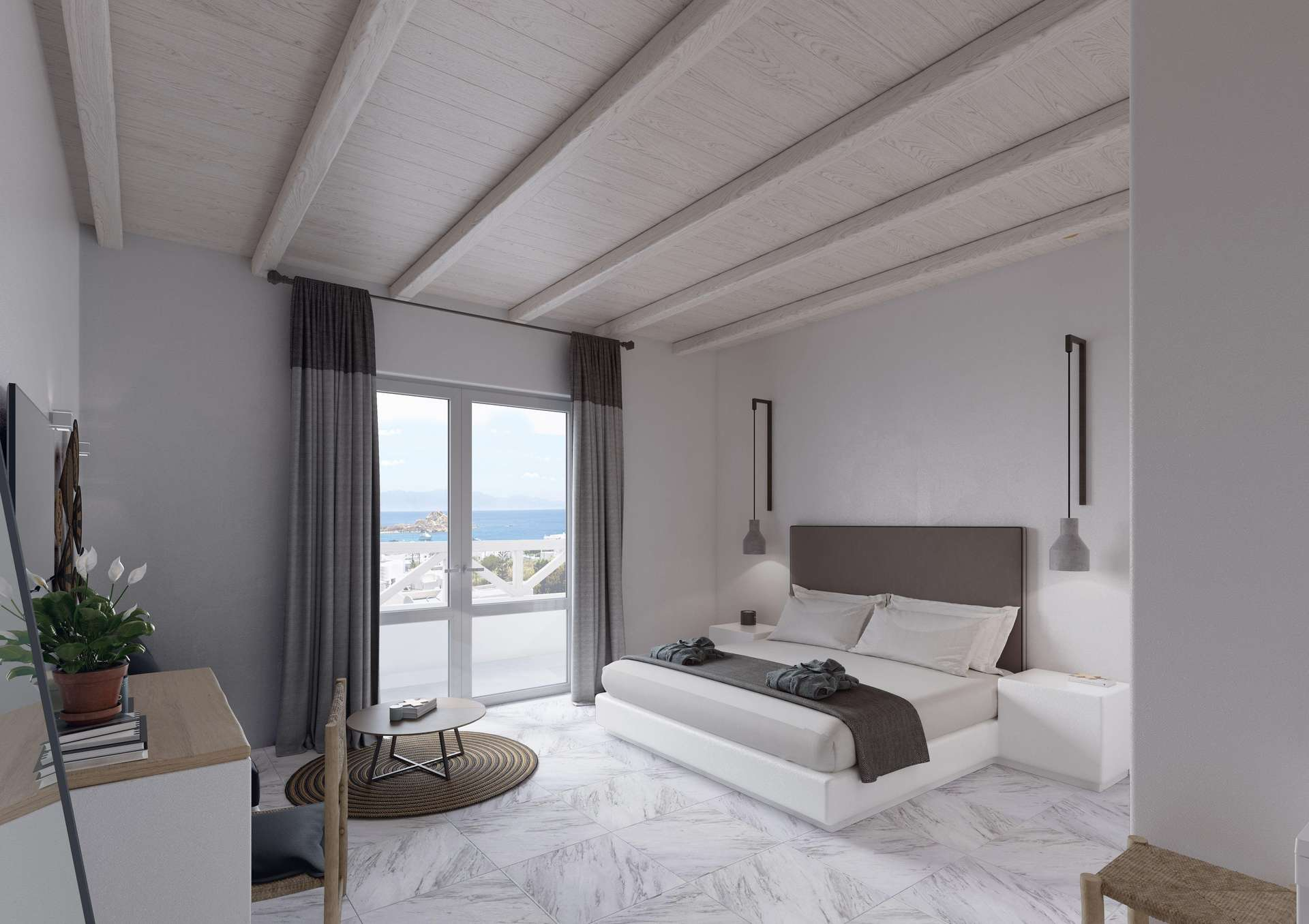 Mr & Mrs White Mykonos - superior kamer